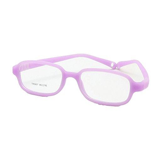 dc66533990 85% OFF EnzoDate - Montura de gafas - para niño multicolor morado ...