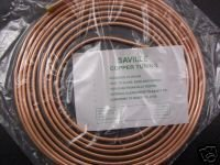 1/4' X 25Ft (7.5M) Soft 22G Easy Flare Copper Fuel Pipe saville