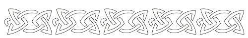 Badger Totally Tattoo Body Art Stencils Celtic Band-22-752