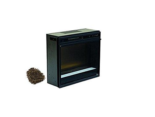 Cheap Ashley W100-02 Electric Fireplace Insert Black (Complete Set) with Bonus Premium Microfiber Cleaner Bundle Black Friday & Cyber Monday 2019