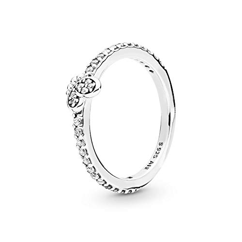 PANDORA Bedazzling Butterfly 925 Sterling Silver Ring, Size: EUR-52, US-6-197948CZ-52