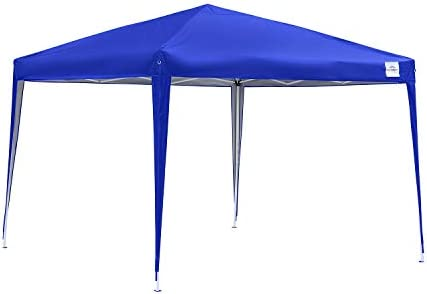 Klismos 10x10FT Canopy Tent Pop Up Instant Waterproof Gazebo Shelter Outdoor Beach Wedding Party Tent