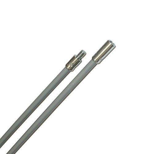 Rutland Products 25P-5-1/4-Inch 20 Threading by 5-Foot Flexible Pellet Stove Rod