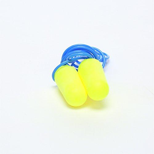 3M E-A-Rsoft Néons jaunes couvre-bouche-oreilles, la protection de lOuïe 311-1250 dans le sac, format régulier