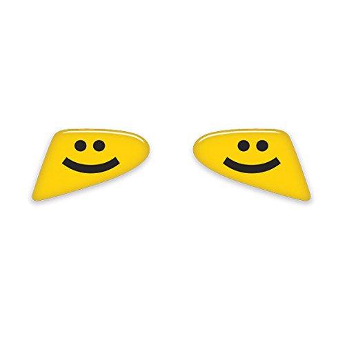 GoBadges IP29 Smile Paddle Shifter Badge for Mini Cooper R60//R61, Set of 2