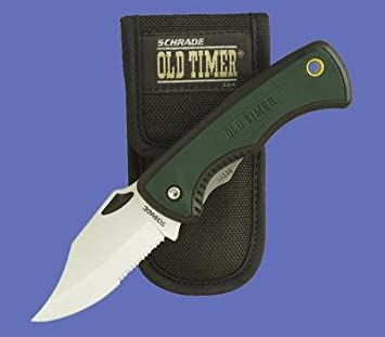 Schrade Knives 47OTCP Schrade Beast with Black Composition Handles