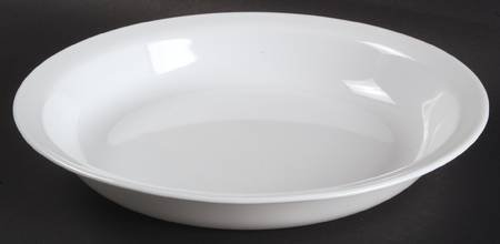 Corning Winter Frost White Pie/Baking Plate, Fine China Dinnerware