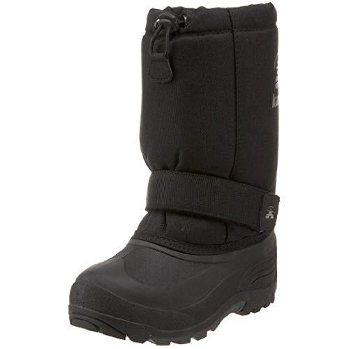 (Kamik Rocket Cold Weather Boot (Toddler/Little Kid/Big Kid),Black,10 M US Toddler)