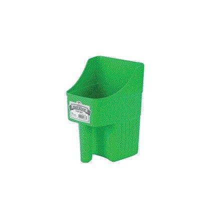 Miller Enclosed Pet Feed Scoop - 3 Quart [Set of 2] Color: Lime Green