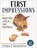 First Impressions, Lynda T. Boardman, 0834115662