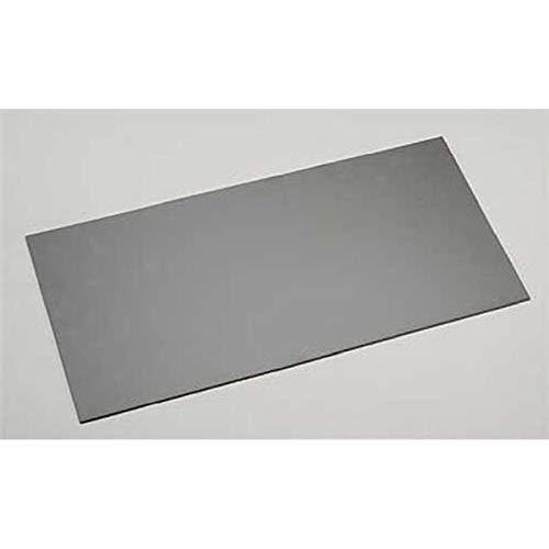 Black Styrene Sheets, .08x6x12