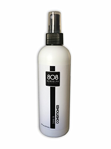 808 Randolph Leave In Conditioner NO MORE TANGLES, WORKS INSTANTLY, EASY TO USE, PROTECTS COLOR Repair, Moisture, Heals Dry, Natural and Curly Hair. Great for SWIMMERS AND YOGA All Hair ()