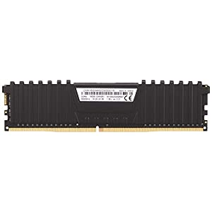 Corsair Vengeance LPX 16GB (2 X 8GB) DDR4 3000 (PC4-24000) C16 1.35V Desktop Memory - Black PC Memory CMK16GX4M2D3000C16