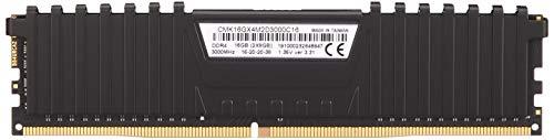 Corsair Vengeance LPX 16GB (2 X 8GB) DDR4 3000 (PC4-24000) C16 1.35V Desktop memory - Black PC Memory