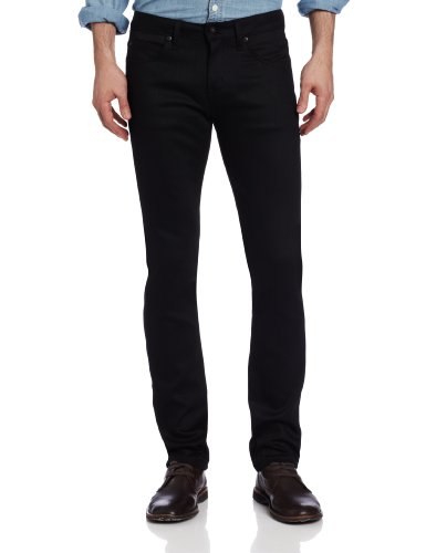 Naked & Famous Denim Men's SuperSkinnyGuy Jean In Black P...