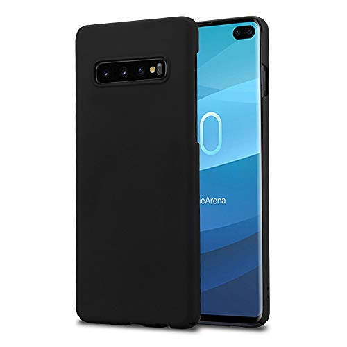 Ultra Slim Guard Skin - Galaxy S10+Plus case - Hard Phone case - Ultra Slim Matte Skin Back Cover for Samsung Galaxy S10 Plus - Latest Model - Black
