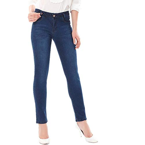 donna Slim RXF Pantaloni Blu slim da Pantaloni ricamati jeans Fashion 8tfqfOwax