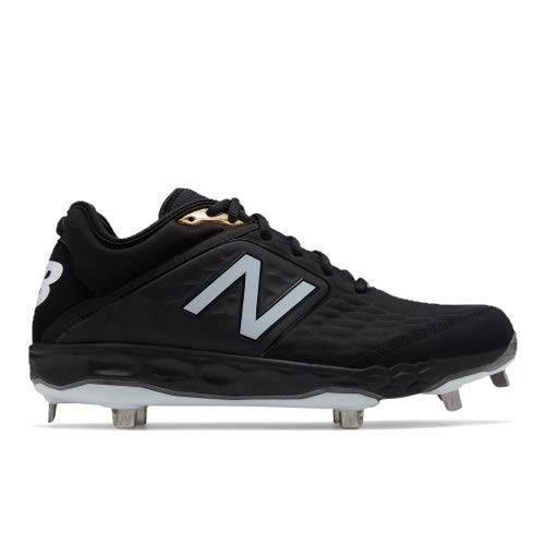 New Balance Men's 3000v4 Baseball Shoe Black 10.5 D ()