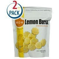 WOW Baking Company Cookies Gluten Free Lemon Burst -- 8 oz Each / Pack of 2 Thank you for using our service (Lemon Cookies Wow)