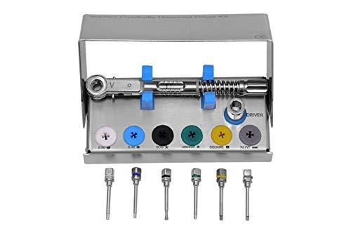 Dental Prosthetic Kit 4mm Square Engagement, Hex Driver 0.050, Hex Driver 0.048, Code DIHD (Best Dental Implants Brands)