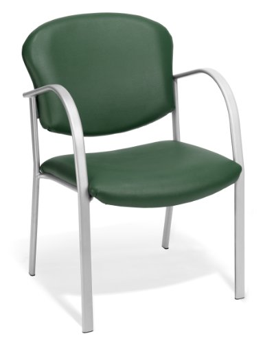 (OFM 414-VAM-602 Contract Guest Vinyl Chair, Teal )