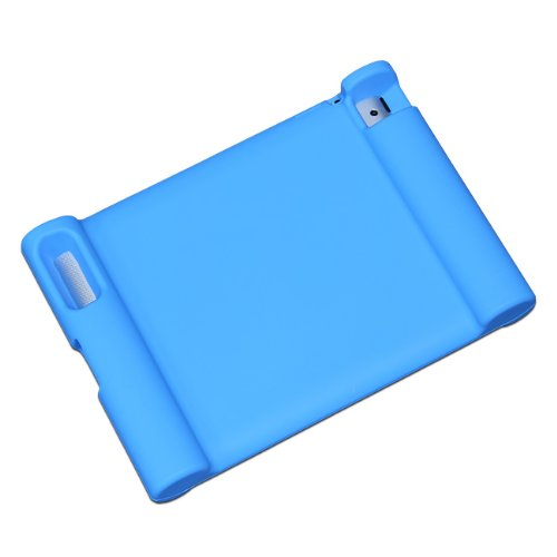 Maximal Power Shock Impact Proof Silicone Cover for Apple iPad 2, 3rd, 4th Generation Case, Blue (POU IPAD/BL) by MaximalPower (Image #1)
