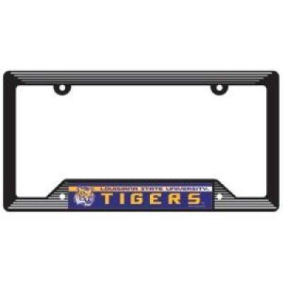 Lsu Tigers Plastic License Plate Frame