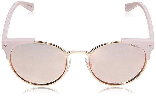 X S 6038 de Or Rose ronde 56 Polaroid Rose 8KJ combo polarisé métal lunettes soleil PLD wAnvHqP
