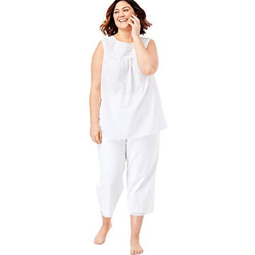 Dreams & Co. Women's Plus Size Swiss