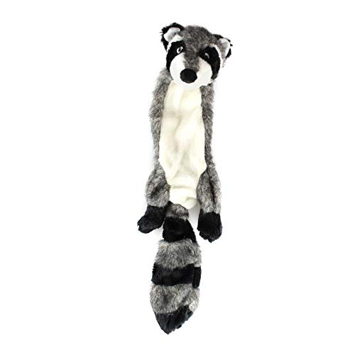 Bazzano Skinny Peltz Squeaky Plush Dog Toy No Stuffing Pack