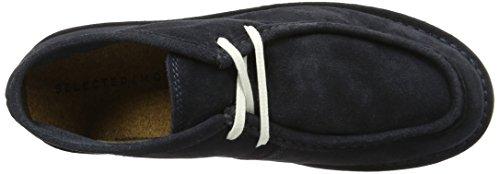 SELECTED Shhronni Light Boot Noos, Botines para Hombre Azul (Navy Blazer)