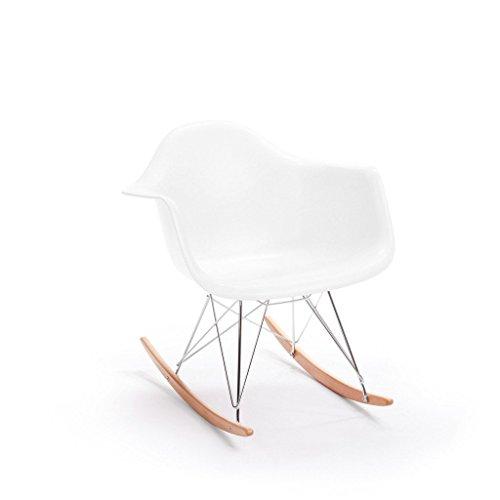 Rocking Arm Chair White