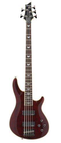 Schecter Omen Extreme-5 Bass Guitar (Black Cherry) 5 String Bass Cherry