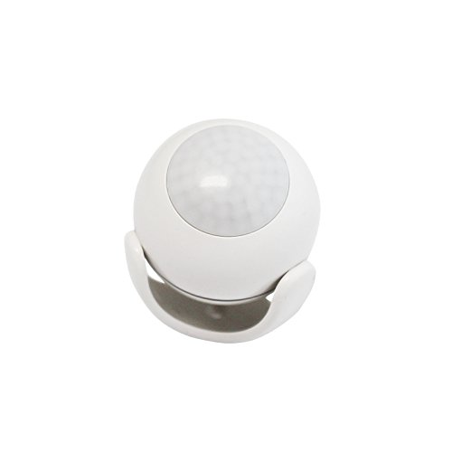 iView S200 WiFi Smart Motion Sensor Indoor Outdoor Adjustable Sensibility DIY Easy Installation Long Lasting Battery by IVIEW (Image #1)