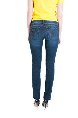 Stone Jeans Waist Regular Dark Pasadena Women's Lois wUBYqaS
