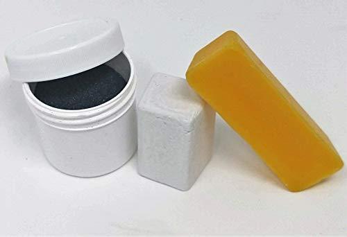 Paper Sharpening Wheels Maintenance Kit - Loose Grit, Bees W