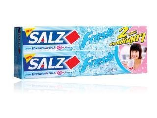 SALZ Toothpaste Fresh 160g twin pack. ()