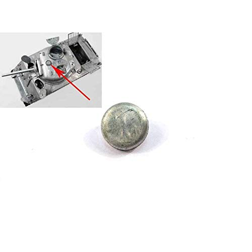 Part & Accessories 1:16 Mato Metal Turret Ventilator for 1/16 Mato 1230 USA Sherman M4A3(75) W rc tank, spare tank ()