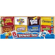 General Mills Breakfast Cereal Pack (Pack of 24) image