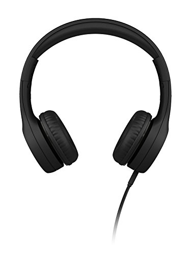 LilGadgets Kids Premium Volume Limited Wired Headphones with SharePort (Children, Toddlers) - Black