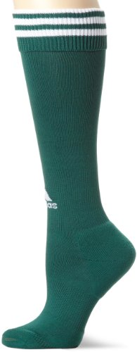 Adidas Youth Soccer Uniforms (adidas Copa Zone Cushion Sock, Forest/White, Large)