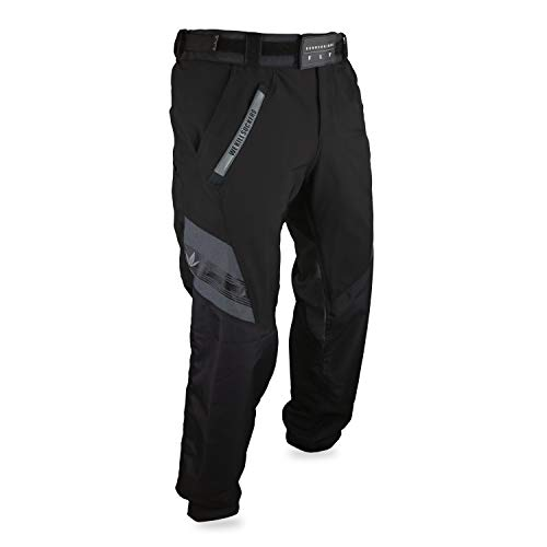 Bunker Kings Featherlight Fly Paintball Pants (X-Large (XL), Black)