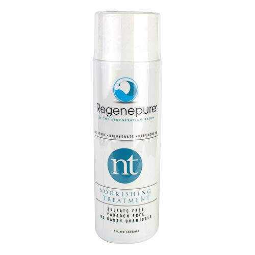 REGENEPURE - NT Shampoo, Nourishing Treatment For Thickening and Strengthening Hair, 8 Ounces