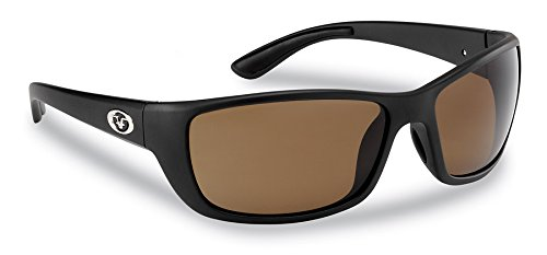 aa879b54a4a Amazon.com   Flying Fisherman Cay Sal Polarized Sunglasses with Matte Black  Frame