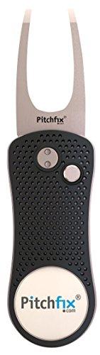 Pitchfix Divot Tool Golf (Gunmetal/Silver)