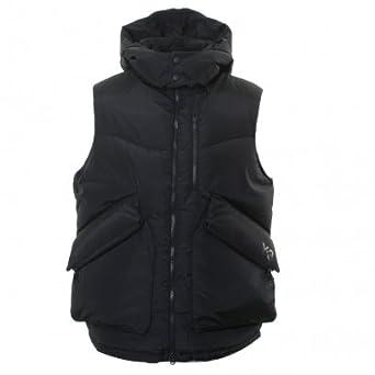 c22054a3f3c86 Y3 Nylon   Down - Vest Black  Amazon.co.uk  Clothing