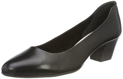 Tamaris WoMen 22302 Closed-Toe Pumps, Beige Black (Black 001)