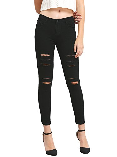 Juniors Black Denim - 3