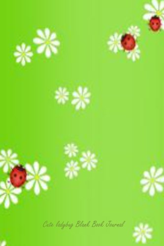 "Download By Reissa Roni Cute Ladybug Blank Book Journal: 100 pages, 6 x 9"", lined [Paperback] ebook"