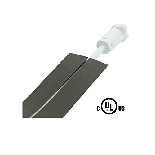 Legrand - Wiremold CDBK-50 Corduct Overfloor Cord Protector-  Rubber Duct Floor Cord Cover, Black (50 Feet) by Wiremold (Image #2)